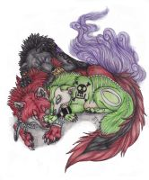 sleepy shinigami by Suenta-DeathGod