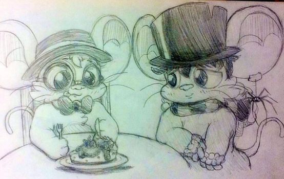 A Mixed Mouse's Birthday Cake by 0-LOTUS-0
