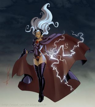 Trinquette Drawing Challenge - 05-04-13 [STORM] by mad-smile
