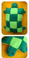 PLUSH PILLOW - turtle by LoRi-La-Tortuga