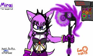 Project RE:Mix - Mirai the Vampire Cat (TG Update) by EvoDeus