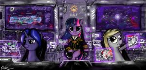 EQUESTRIA SPACE FORCE by Einik