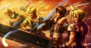 FFDissidia: Four Heroes by Risachantag