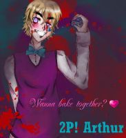 2p! Arthur: Wanna bake together? by red-and-blue-colours