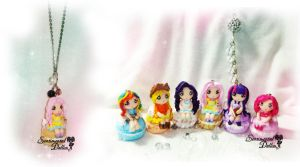 My Little Pony Humanized Kawaii Macaroons by SentimentalDolliez