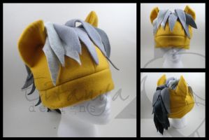 Daring Do fleece pony hat by eitanya