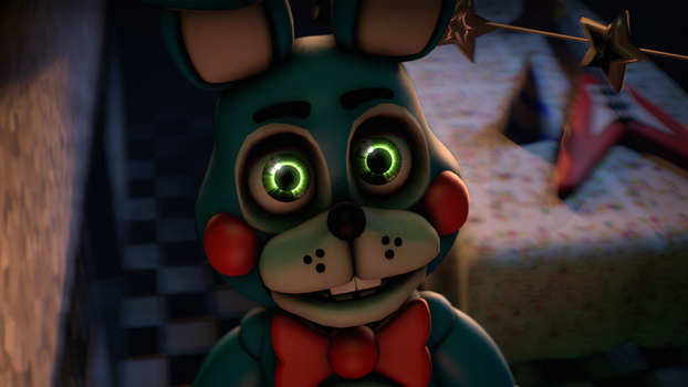 [FNAF SFM] Toy Bonnie,He is looking at you! by MangoISeI