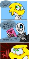 How Gaster Fell by combiezombine