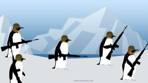 Penguin Patrol by surlana
