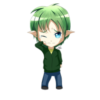 [Free Commission] Osamu Chibi by DragonBreath75