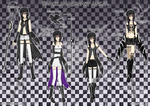 Black Imaginary Angel Forms by Smartanimegirl