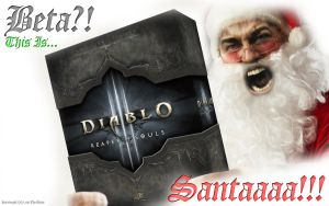 Beta? This is SANTAAA! 2013 (Merry Christmas 2013) by Holyknight3000