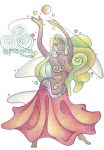 Dancing with the Flow by Spiralpathdesigns
