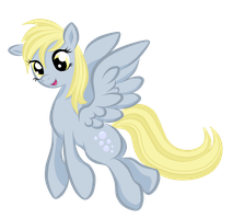 Derpy Hooves by BuckingAwesomeArt
