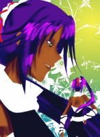 Bleach Collab: Yoruichi by dreams-celestial