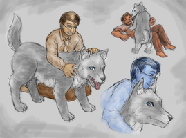The One Where Jon Is A Werewolf by ErinPtah