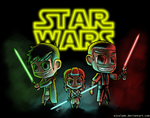 Star Wars Buddies by eJcalado