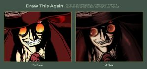 Draw this Again: Alucard by Tomycallejeros