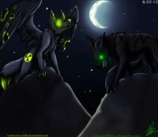 Inner Evil ::Collab Legendwolves:: by xXNuclearXx