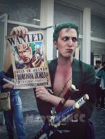 WANTED ZORO by MartinaNSC