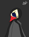 Chris, The Cloaked Man by Melody246
