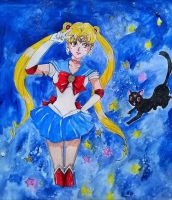 Sailor Moon by chaosqueen122