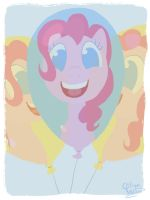 Pinkie Pie cutie mark by Citron--Vert