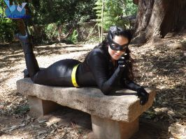 Julie Newmar's catwoman cosplay! by noooooname