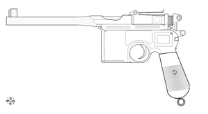 Mauser c-96 base by 96blackarrow