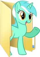 Custom Lyra folder icon 2 by Blues27Xx
