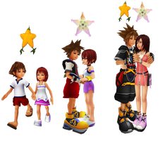 The Memories of Sora and Kairi by 9029561