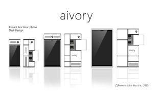 aivory (Project Ara Smartphone Shell Design) by RowennJohn