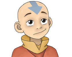 The Legend Of Aang: Aang portrait by DeJakob