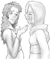 Ruth Consoles Orpah by asianpuppet