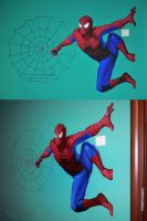 Mural . Spiderman by dh6art