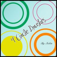 4 Circle Brushes by IssLiTa