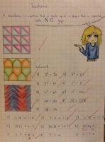 Chibis and tessellations by TheSilentArtist2225
