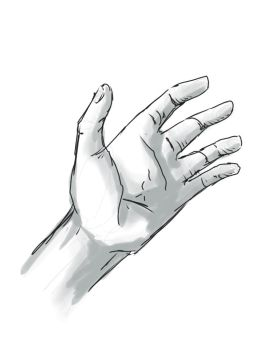 SKETCH YOUR HAND by JimGal77