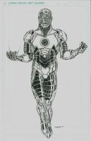 SINESTRO CORPS IRON MAN WIP by FanBoy67