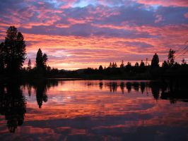 Sunset at SunRiver 2 by Sonic840