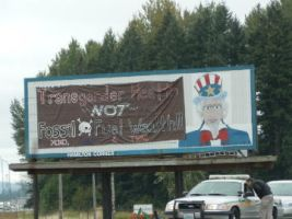 Billboard Occupation Chehalis WA USA  4 by mebyrne57