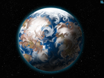 draw me a planet that looks like Earth by zenzmurfy