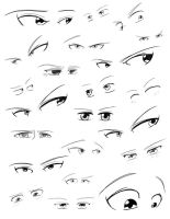 Female Eye Practice by Obhan