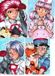 Pokemon ACEOs by JammyScribbler