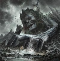 Dead Giant King in Border by godbo6
