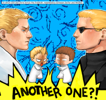 Seifer vs. Wesker by mausmouse