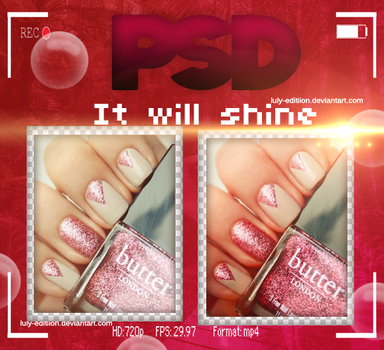 PSD~ItWIllShine by Luly-Editiion