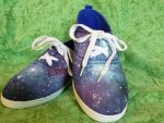 Galaxy Shoes by Rosenpest