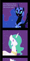 The night did last forever! by MrFoxington