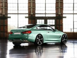 BMW F32 M4 Coupe by MOMOYAK by MOMOYAK